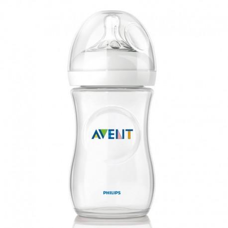 شیشه شیرهای نوزاد 330 میل نچرال اونت philips avent