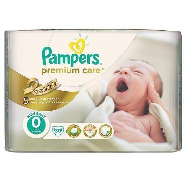 پوشک ضد حساسیت نوزادی پمپرزسایز0
