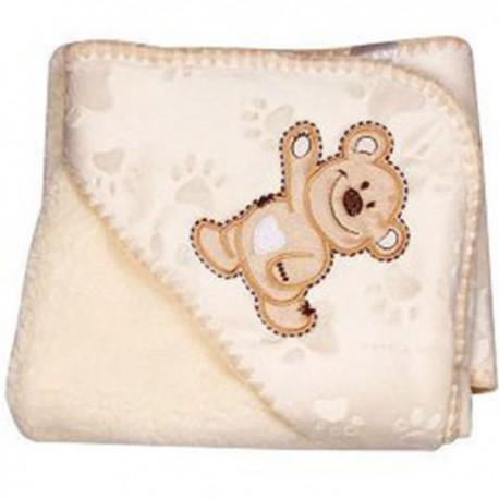 پتو نوزادی کوکالو مدل خرس خندان