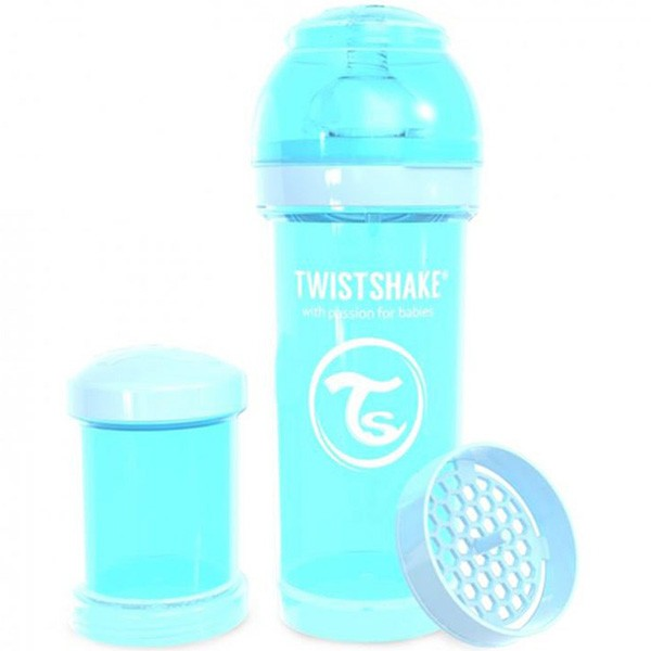 شیشه شیر طلقی نوزاد 260 میل تویست شیک twistshake